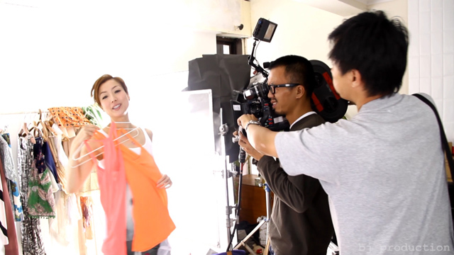Sammi Cheung x ~H2O+. Making of 'C8000' TVC.